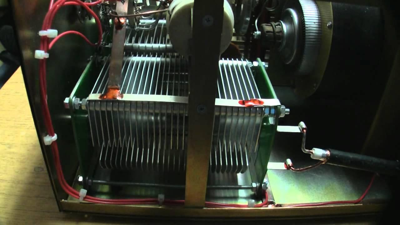 HF POWER AMPLIFIER ZZ-750 BY UY5ZZ (Wzmacniacz Mocy KF)