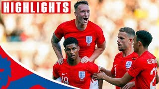 England 2-0 Costa Rica | Rashford Scores a Stunner! | Official Highlights