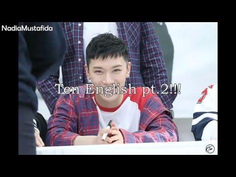 NCT U_ TEN Speaking English Compilation pt.2