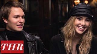 Ansel Elgort & Suki Waterhouse on Dating & Jealousy in Hollywood   THR Next Gen