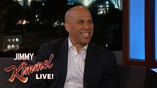 Senator Cory Booker Refuses to Hate Donald Trump