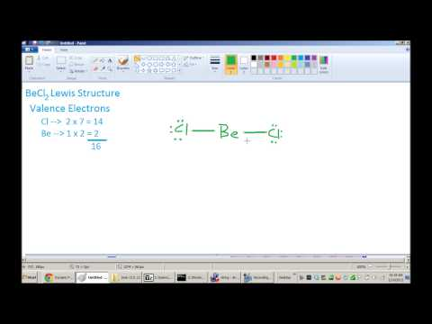 BeCl2 Lewis Structure & VSEPR Geometry - Xem Video Clip ...