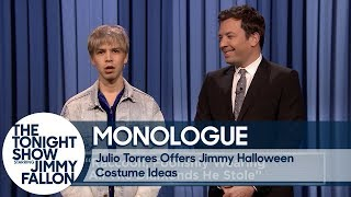 Julio Torres Offers Jimmy Halloween Costume Ideas - Monologue