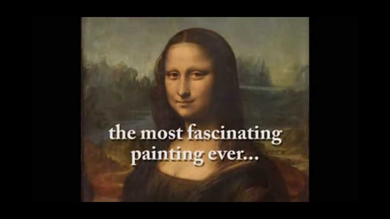 Mona Lisa Painting Mystery Secret Message by Leonardo Da ... Da Vinci Paintings Hidden Messages