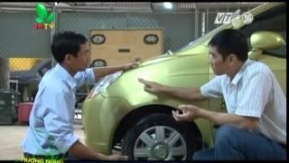 Kỹ thuật sơn tân trang xe ô tô P4