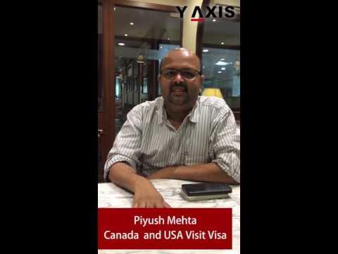 Piyush Mehta Canada and USA Visit Visa PC Shaik Azeem