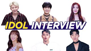 Unique Idol Interviews Marathon  • ENG SUB • dingo kdrama