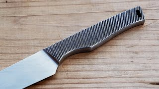 Knife Making - Knife From an Old File