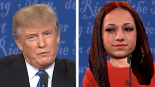 Donald Trump VS Cash Me Ousside How Bow Dah Girl