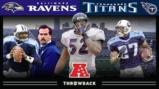 Ray Lewis Silences Nashville (Ravens vs. Titans, 2000 AFC Divisional) | NFL Vault Highlights