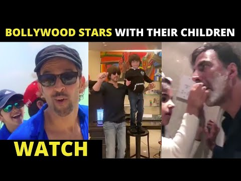 Father's Day: Unmissable videos of Shah Rukh Khan, Akshay Kumar & more dotting dads of Bollywood