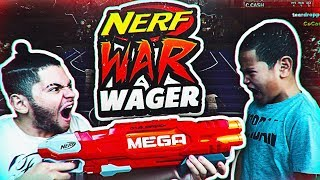 1v1 9 YEAR OLD BROTHER VS MINDOFREZ! NERF WAGER 😂 LIL BRO BROKE MY ANKLES OMG! NBA 2K18