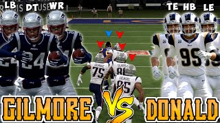 Team of AARON DONALD'S vs Team of STEPHON GILMORE'S!! (Best Player Tournament Round 2)
