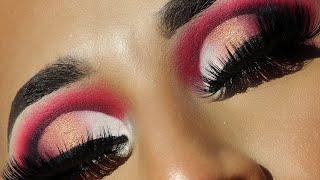 Blood sugar Palette by Jeffree Star Cosmetics   Red Smokey eye   Kiki with Keian