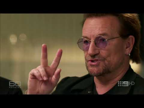 U2 Interview - 60 Minutes Australia November 2017
