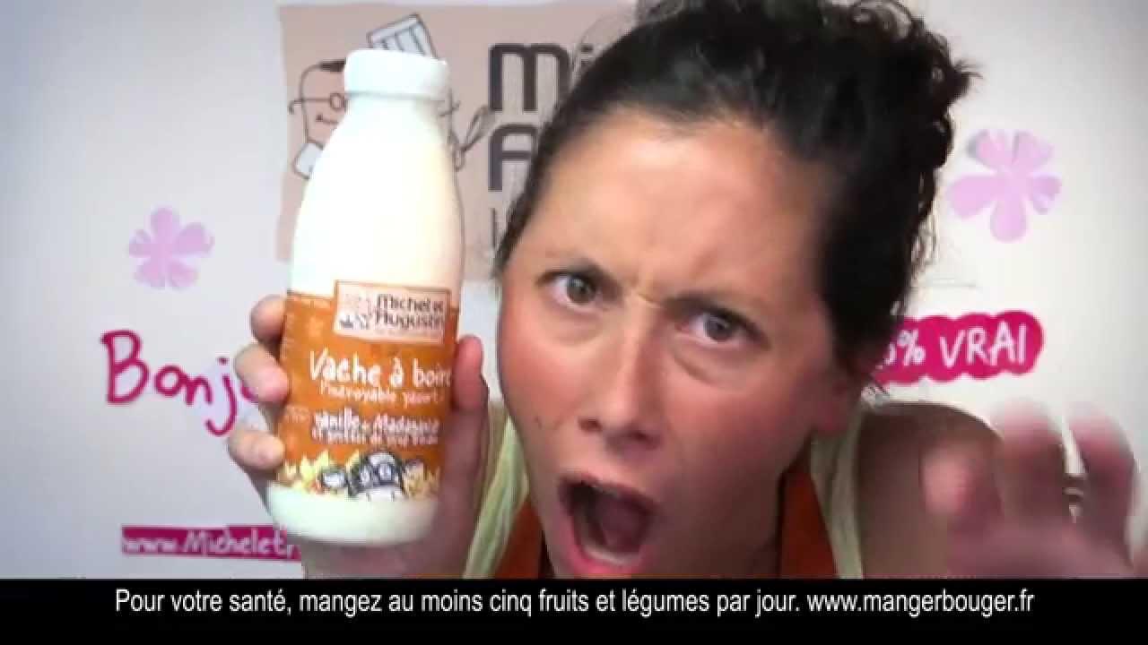 Publicité Michel et Augustin – la vache à boire