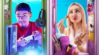 Girls vs Boys in School Life!