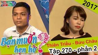 Quyền Linh - Cát Tường sốc với cặp đôi ế do thiếu kinh nghiệm hôn | Thiên Triều - Bửu Châu |BMHH 270