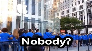 iPhone XS Max Launch Line- Apple Store NYC (Release Date- Sept 21)