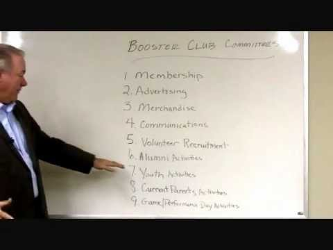 Key Committees Every High School Booster Club Should Have