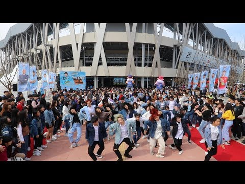 Random Play Dance in Korea,Daegu with Dress code BLUE
