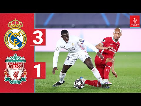 Highlights: Real Madrid 3-1 Liverpool | Reds beaten in Champions League