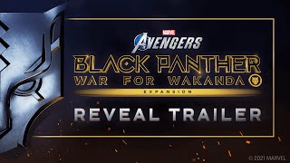 Marvel's Avengers – Black Panther Reveal Trailer
