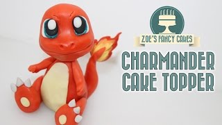 Pokemon cakes: Charmander cake topper