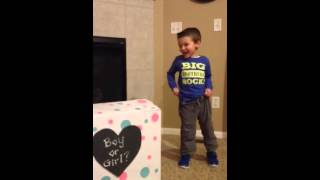 Surprise! It's a baby... (boy or girl?)