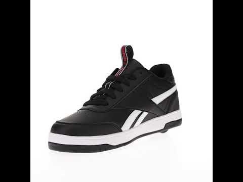 Video HEELYS Roller shoe X REEBOK CL Court Low (10371) Black white