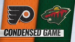 02/12/19 Condensed Game: Flyers @ Wild