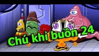 Hướng dẫn cách chơi Game Chú khỉ buồn 24 full các màn chơi