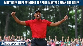 Tiger Woods is BACK. What does it mean for golf?   CBS Sports HQ