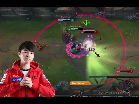League Of Legends Gameplay Faker Mid Cassiopeia Best Farm