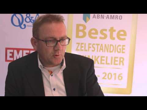 Uitreiking Beste Zelfstandige Winkelier Award 2015-2016 - Boer Staphorst