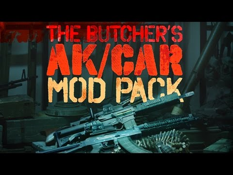 [Payday 2] Butcher's AK/CAR Mod Pack Impressions