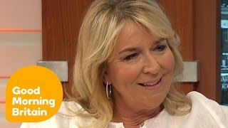 Fern Britton And Piers Morgan Kiss And Make Up After Their 'Spat' | Good Morning Britain