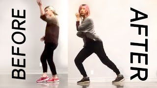 learning to dance hip hop in 1 year (progress compilation time lapse) + some kpop