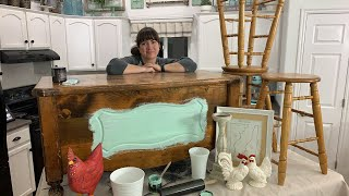 🔴 Thrift Store Finds | Two Tone Paint Finish