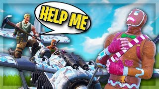 When Fe4RLess and I are in your squad, THIS happens... 😂 (Fortnite Funny Moments)