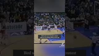 Larry Bird is the goat 🐐 trash talker   #Shorts