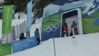 Men's Slalom Alpine Skiing Full Event - Vancouver 2010 Winter Olympics