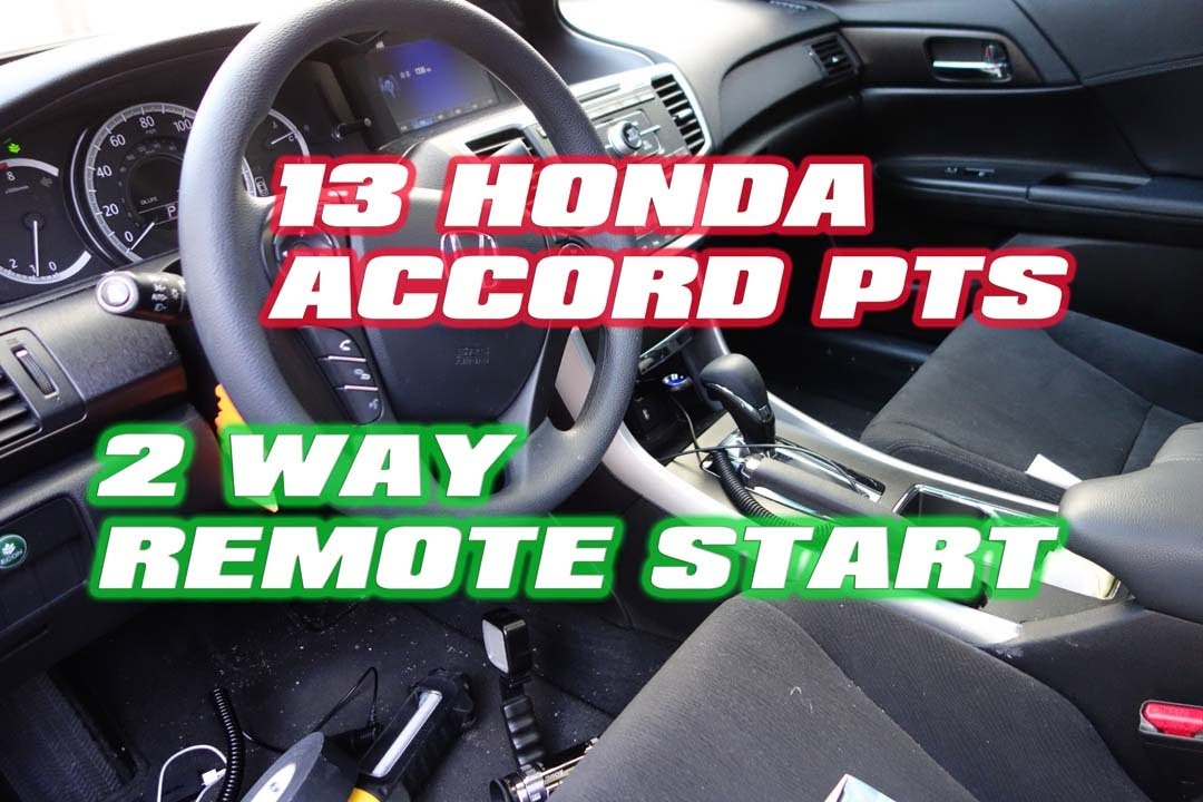 honda accord 2014 remote start 2 way push to start compustar idatalink autotoys com youtube. Black Bedroom Furniture Sets. Home Design Ideas