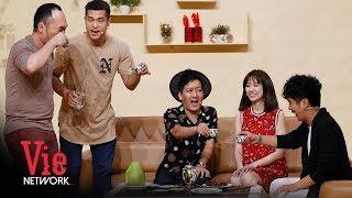 Trường Giang Rủ Ba Vợ Hari Won Nhậu Nhẹt Tới Bến Luôn   Hài Trường Giang 2018
