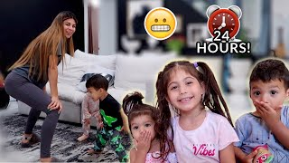 WE LET OUR 3 KIDS CONTROL OUR LIVES FOR 24 HOURS!!!