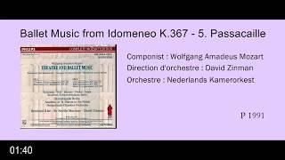 Mozart: Ballet Music from Idomeneo K 367, 5. Passacaille (clip)