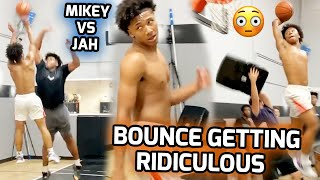 Mikey Williams & Jahzare Jackson GO AT IT In 1v1 King of The Court! These Guys Live In The Gym 💯
