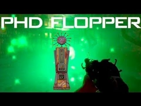 Black Ops 2 Zombies Buried Achievements - BO2 PhD Flopper Perk RETURNS - Buried Easter Egg - Smashpipe Games