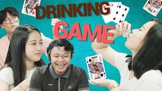 Chơi Drinking game cùng gái xinh | Trong Trắng 99
