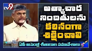 Chandrababu Speaks In AP Assembly..